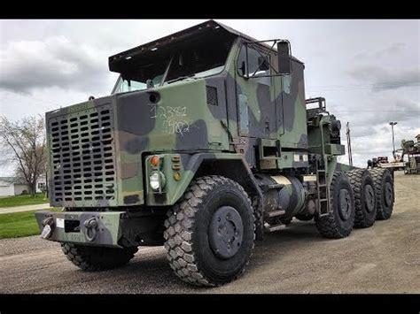 M1070 8x8 Oshkosh HET Military Truck - YouTube