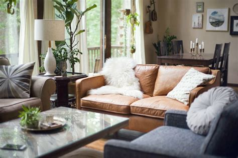 Decorating Ideas Living Room Leather Sofa by Living Room Inspiration Leather Sofa