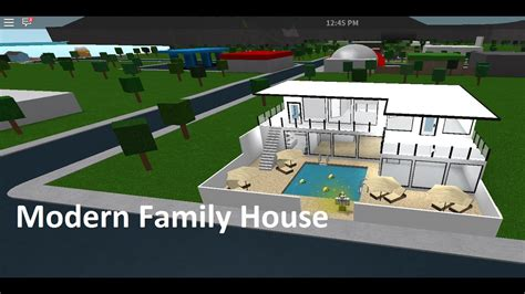 Roblox  Bloxburg Speedbuilds  Ep6  Modern Family Home