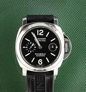 "A stainless steel, automatic ""Luminor Marina"" wristwatch ..."