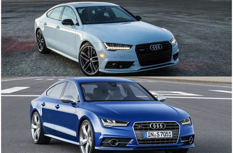 2018 Audi A7 Vs 2018 Audi S7 Worth The Upgrade? Us