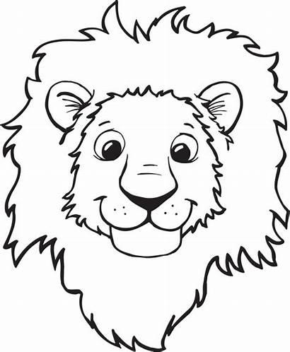 Lion Clipart Head Clipartpanda Face Clip Drawing