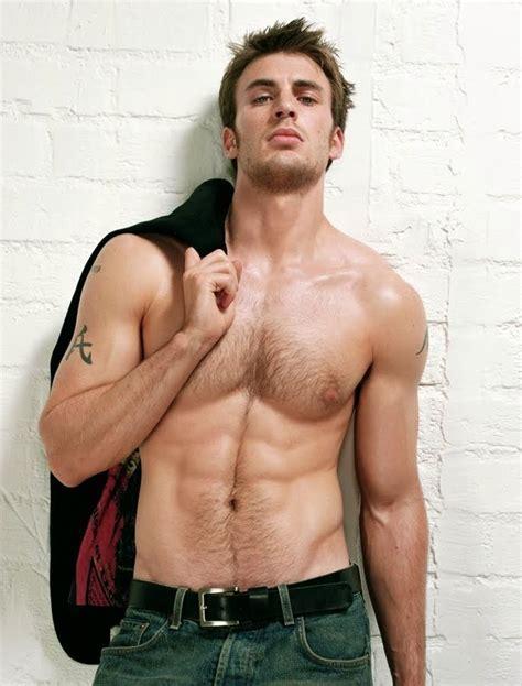 Celebrity Muscle Chris Evans