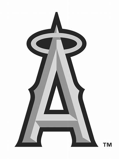 Angels Angeles Los Anaheim Vector Clipart Baseball