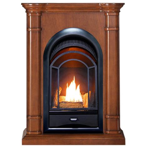procom fst  ventless fireplace system  btu duel