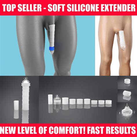 top male penis enlargement system stretcher soft extender