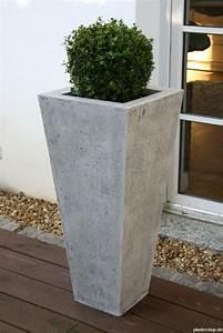 Blumentopf Aussen Grau : pflanzk bel blumenk bel pflanzgef sse in beton oder sandsteinoptik ~ Sanjose-hotels-ca.com Haus und Dekorationen