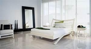 Lit En Rotin : rhila lit double design en bois et rotin ~ Teatrodelosmanantiales.com Idées de Décoration