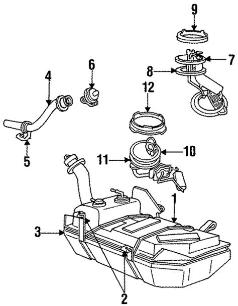 Fuel System Components For Ford Mustang Auto Parts