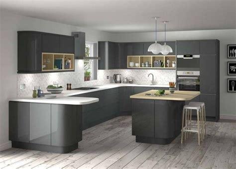 white grey corridor kitchen ideas