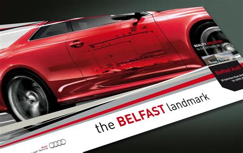 Advertising Concepts For Audi Belfast
