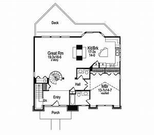 Lake house plans with loft joy studio design gallery for Lake house floor plans with loft