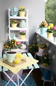 diy citronella kerzen balkon in mint und gelb mein With balkon ideen diy günstig