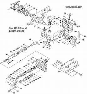 Parts For Cat Pump Model   2531