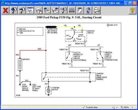 1989 Ford F 150 Ignition Wiring by 6 Best Images Of 2010 F150 Wiring Diagram 2003 Ford F
