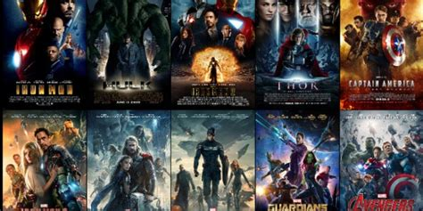 theatrical posters   marvel cinematic