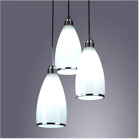 led glass pendant lights disk sideways ceiling plate e27 5w cool warm white led