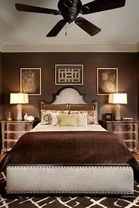 Bedroom, In, Chocolate, Brown
