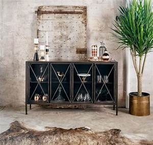 Buffet Metal Ikea : 15 photo of metal sideboard furniture ~ Teatrodelosmanantiales.com Idées de Décoration