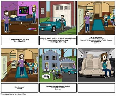 Spanish Project Storyboard