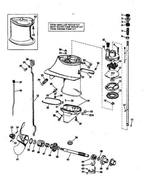 Motor Parts Johnson Outboard