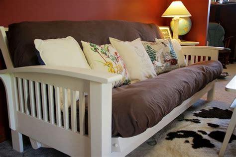 paint futon white home office decor ideas futon bed