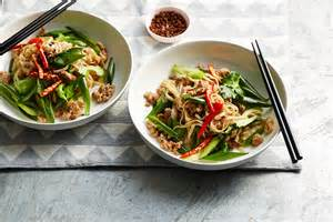 Chinese Rice Noodles with Chicken
