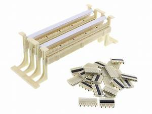 110 Wiring Block  100 Pairs  With Legs And Accessories
