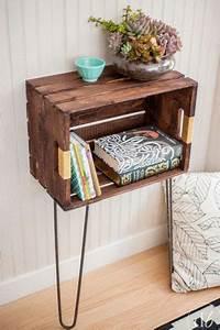 Caisse Bois Deco : d co r cup des meubles faire avec des caisses en bois ~ Teatrodelosmanantiales.com Idées de Décoration