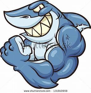 Cartoon Angry Shark Vector Clip Art Stock Vector 153094121 ...