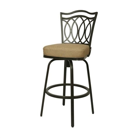 pastel furniture westport 30 quot outdoor swivel bar stool