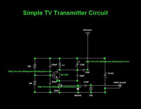 Simple Transmitter Circuit Diagram Vhf Electronic