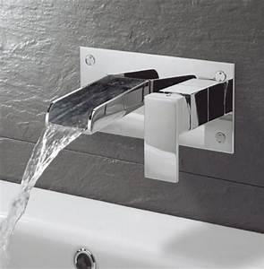 le robinet mural differents designs de mitigeurs With robinet mural salle de bain