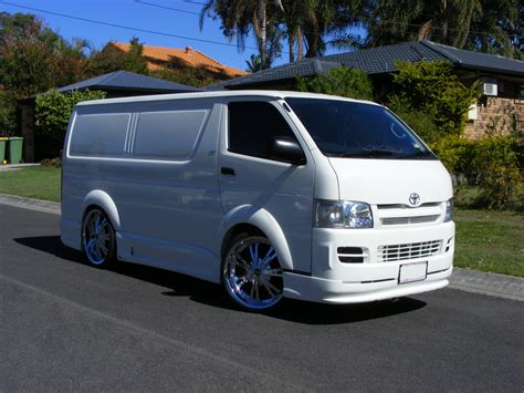 Toyota Hiace Modification by Factoryau 2005 Toyota Hiace Specs Photos Modification