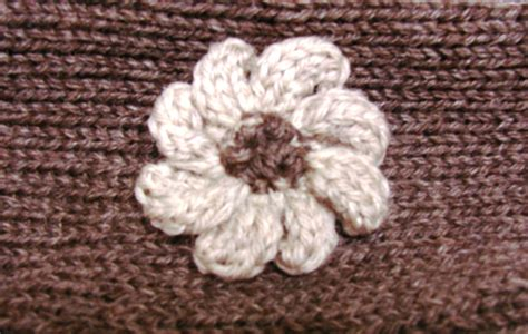 Free Simple Knitted Flower Patterns