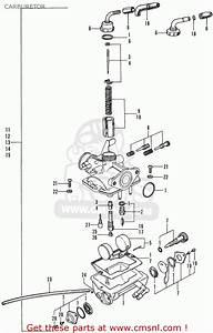 Honda St70 Dax England Carburetor