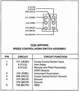 Wiring Diagram  Removing  Steering Wheel Loose Wire