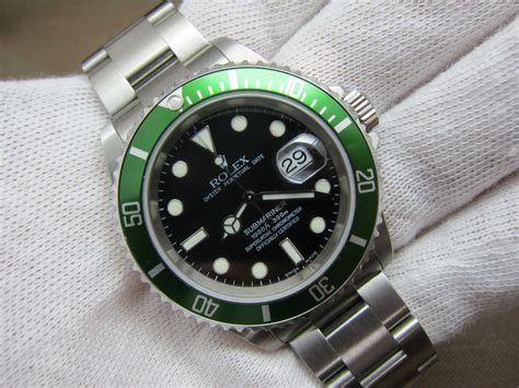 **SOLD**Rolex Submariner ref#16610LV Fat Four - New Old ...