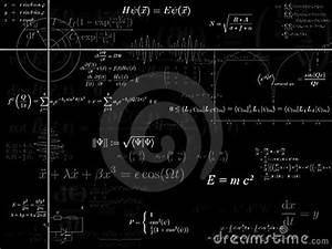 Physics Background Royalty Free Stock Photography