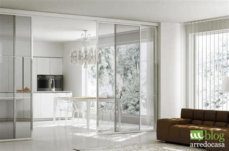 muri in vetro per interni pareti divisorie e porte in vetro per cucina e soggiorno