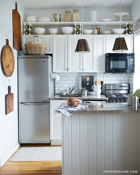 credence en verre transparent cuisine simple storage upgrades for tiny kitchens one
