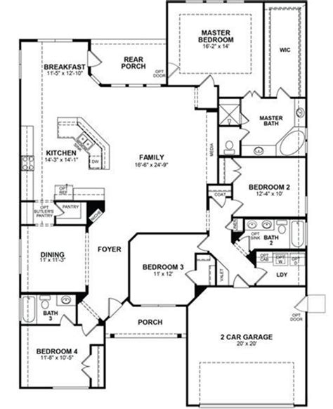 Beazer Homes Floor Plans by Beazer Home Floor Plans House Design Plans