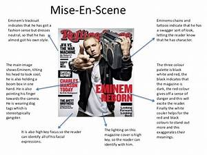 Music Magazine Mise-en-Scene analysis
