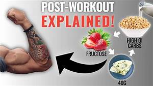 The Best Science-based Post Workout Meal To Build Muscle  Eat This