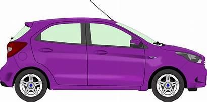 Clip Purple Clipart Vehicle Grey Kia Picanto