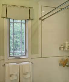 bathroom window valance ideas an and tailored valance for the bathroom i like the curved hem and 2 side pleats it