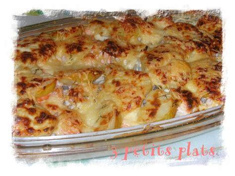 gratin de chou fleur saumon pomme de terre recette
