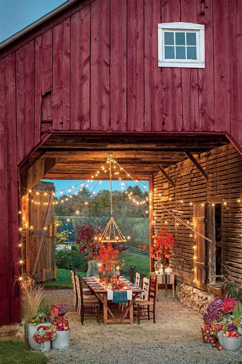 Backyard Decor by The South S Best Fall Colors Southern Living