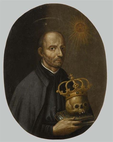 Peinture Vanité by Anonyme Italien 16 176 S Portrait De Ignace De Loyola