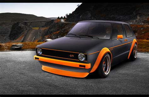 matte orange golf gti matte black orange autemo com automotive